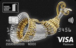 Оформить кредитную карту банка ХоумКредит Платинум