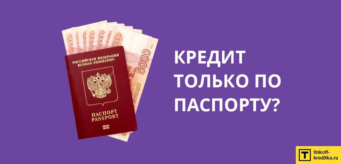 Для получения ссуды только по паспорту без подтверждения занятости нужно иметь заработок от 15 000 рублей