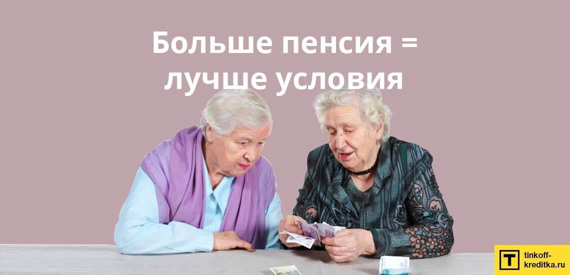Банки охотно выдают денежный кредит пенсионерам по ставке 12%
