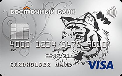 Кредитная карта Cash-Back банка Восточный онлайн-заявка