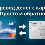 Как перевести деньги с кредитной карты Просто Ситибанка