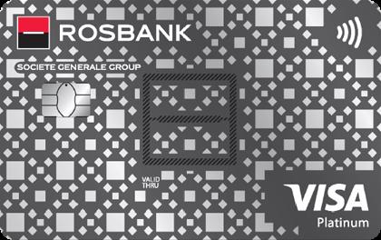 Дебетовая карта банка Росбанк Сверхкарта+ Visa Platinum онлайн заявка