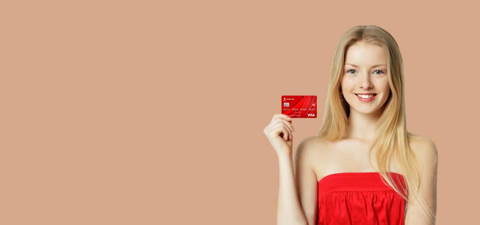 Баннер в кредитные карты - 100 дней без процентов