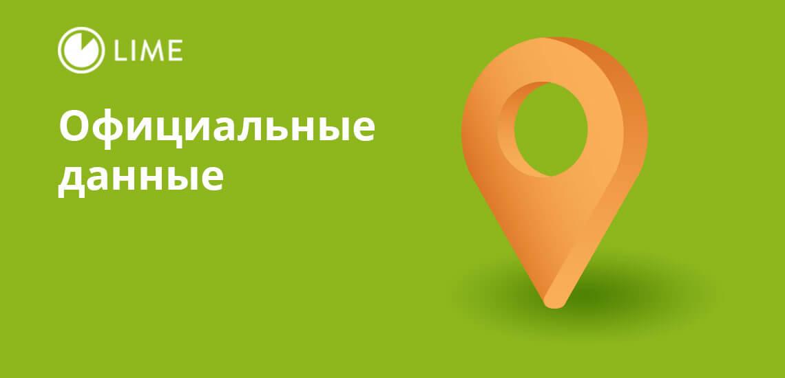 Адреса филиалов «Лайм-Займ» и другая официальная информация есть в открытом доступе