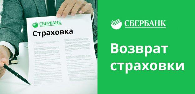 Как вернуть страховку по кредиту в Сбербанке: отказ, возврат денег