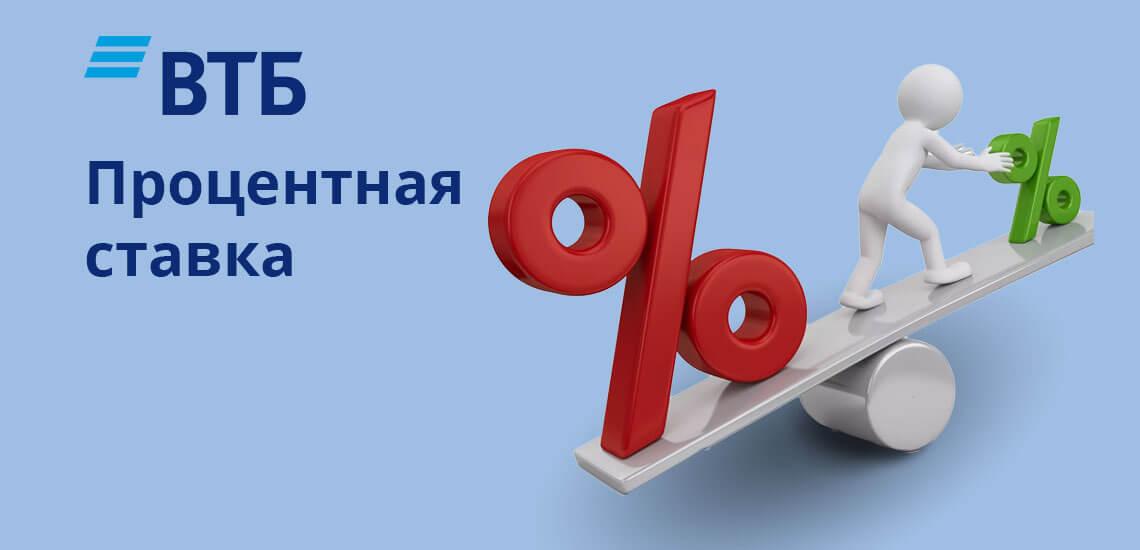 Рефинансирование потребительских кредитов в банке ВТБ производится по фиксированной процентной ставке — 11%