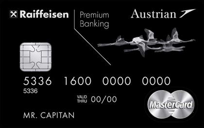 Кредитная карта Райффайзен Austrian Airlines Black Edition