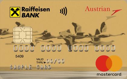 Кредитная карта Райффайзенбанк Austrian Airlines