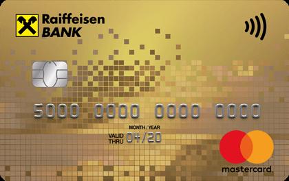 Дебетовая карта Райффайзенбанк Gold MasterCard