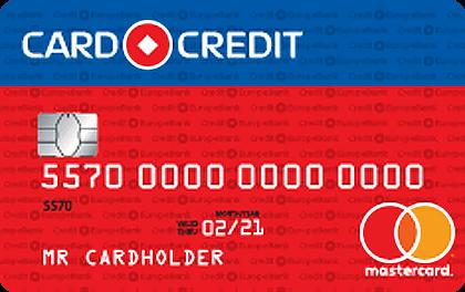 Кредитная карта Кредит Европа Банк CARD CREDIT оформить онлайн-заявку