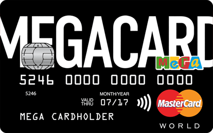 Кредитная карта Кредит Европа Банк MEGACARD оформить онлайн-заявку
