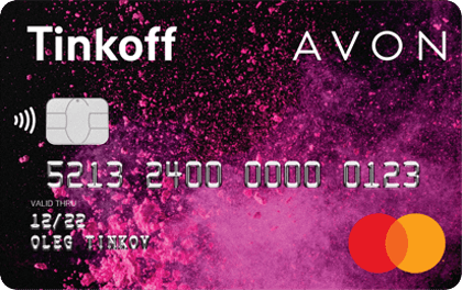 Кредитная карта Тинькофф Avon оформить онлайн-заявку