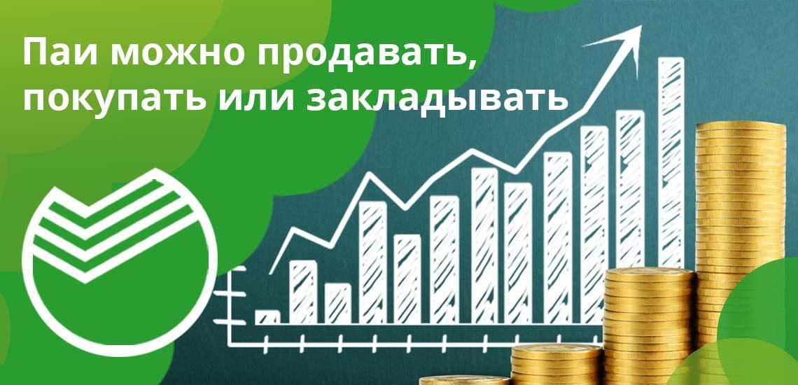 Паи можно продавать, покупать или закладывать, в перспективе их первоначальная цена должна повышаться ежедневно