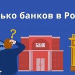 Сколько банков в России с лицензий Центробанка?