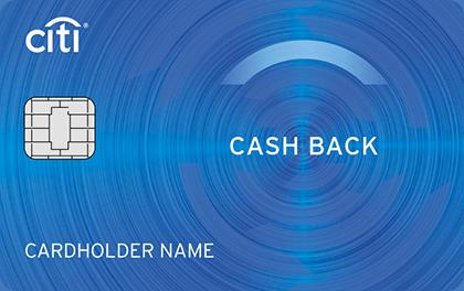 Кредитная карта Ситибанк CASH BACK оформить онлайн-заявку