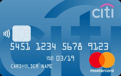 Кредитная карта Ситибанк MasterCard оформить онлайн-заявку