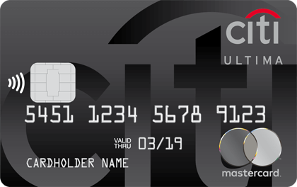 Кредитная карта Ситибанк Ultima оформить онлайн-заявку