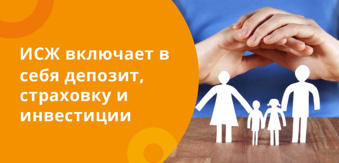 Инвестиционное страхование жизни включает в себя депозит, страховку и инвестиции