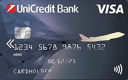 Дебетовая карта ЮниКредит Банк Air оформить онлайн-заявку