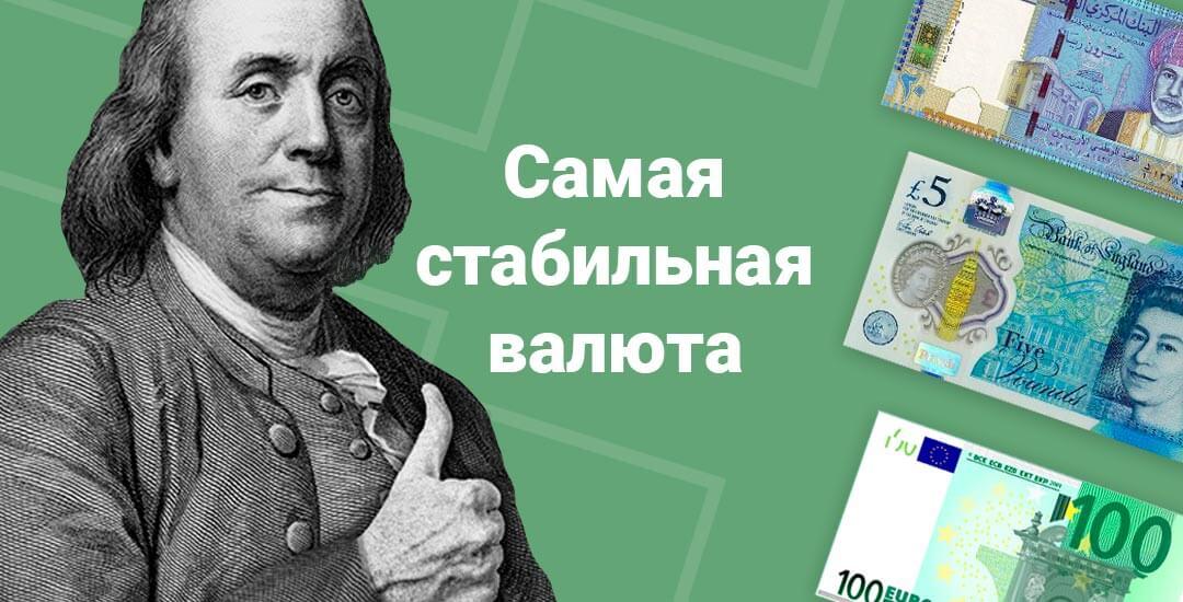 Данные о стабильности валют на 2019 год