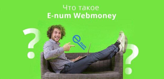 Что такое E-num Webmoney