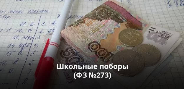 Школьные поборы (ФЗ №273): важная правовая информация