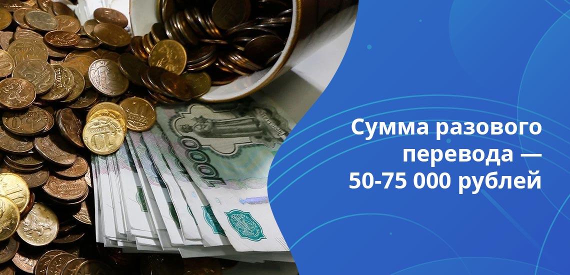 Сумма приходных и расходных операций по одной карте в месяц — не более 600 000 рублей