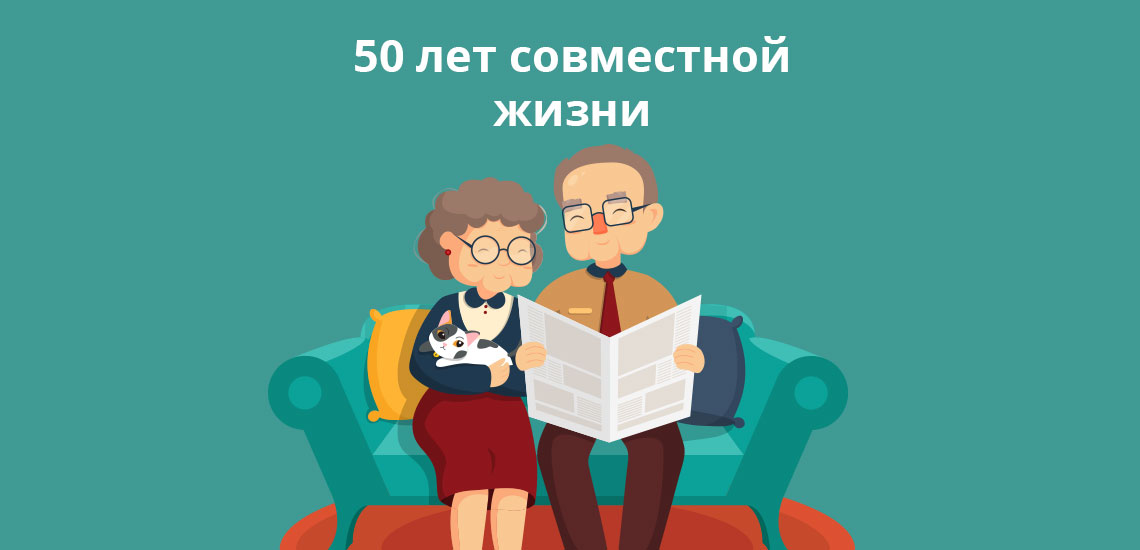 Социальные выплаты к 50- 60- 70-летию супружеской жизни