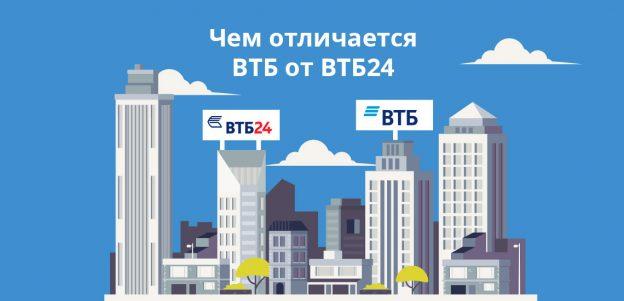 Чем отличается ВТБ от ВТБ24