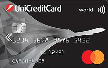 Кредитная карта ЮниКредит Банк AIR оформить онлайн