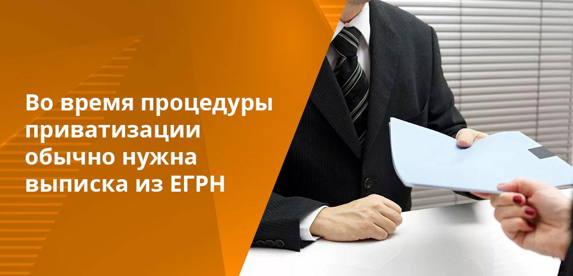 При оформлении объекта в качестве залога во время получения кредита необходима выписка из ЕГРН
