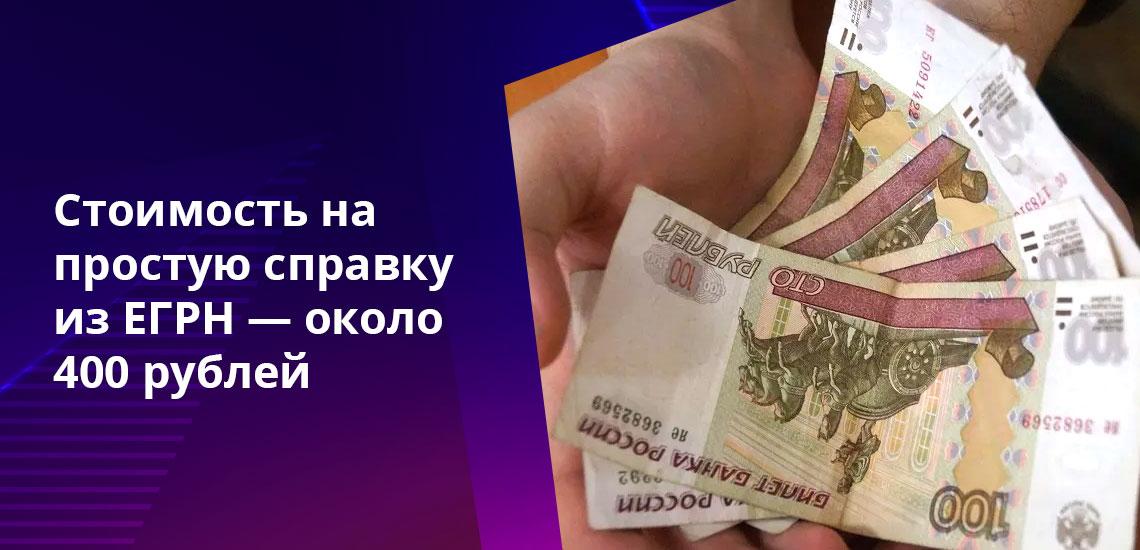 Помимо оплаты выписки из ЕГРН для ее получения необходим паспорт, заявление и другие документы