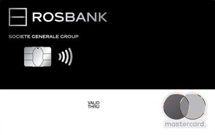 Дебетовая карта Росбанк MasterCard Black оформить онлайн-заявку