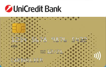 Дебетовая карта ЮниКредит Банк Visa Gold оформить онлайн-заявку