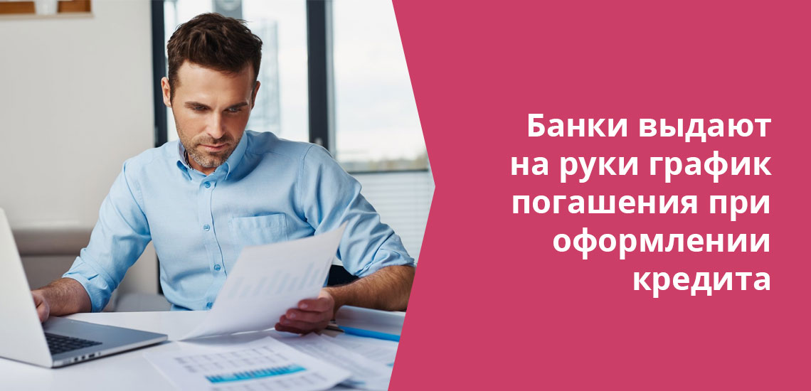 Обычно банк выдает на руки документ, в котором подробно описано, как рассчитывается кредит именно в вашем случае