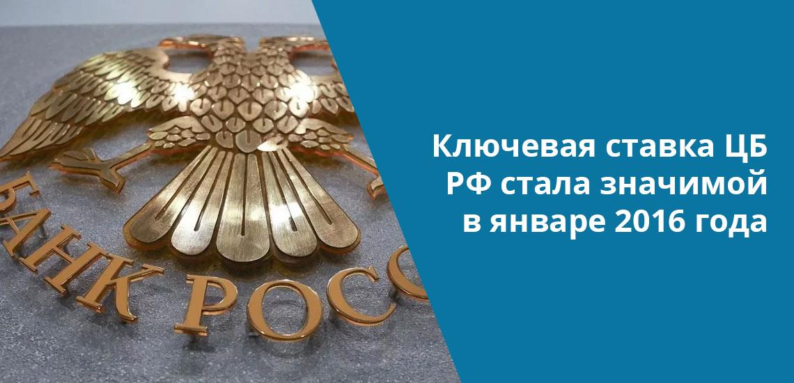 Понятие ключевой ставки внедрено в РФ 13 сентября 2013 года