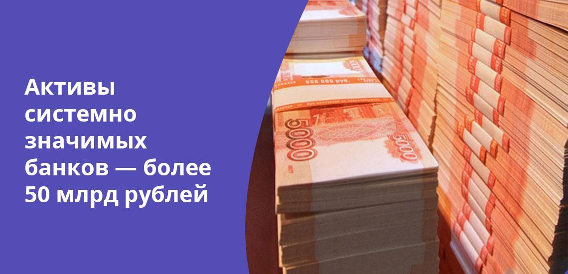 Объемы вкладов физлиц от 10 млрд рублей - одно из условий попадания банка в список системно значимых