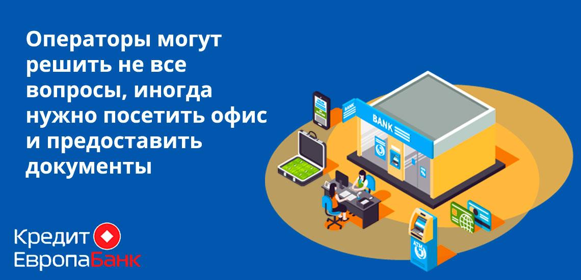 Операторы предоставляют информацию, но для получения определенных продуктов необходимо посетить офис