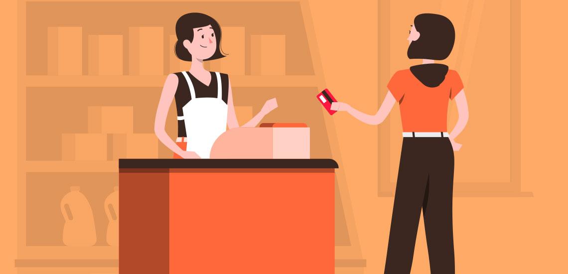 Как расплатиться чужой картой