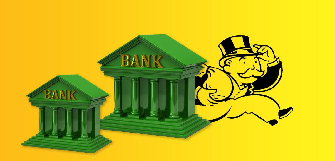 Монополизация банковского сектора России