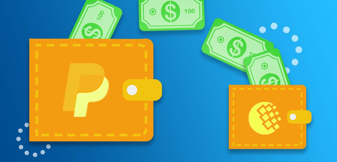 Как перевести с PayPal на Webmoney
