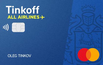 Дебетовая карта Тинькофф All Airlines