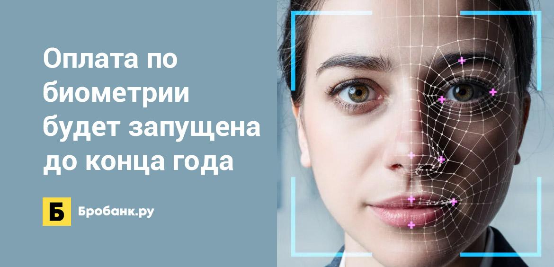 Оплата по биометрии будет запущена до конца года