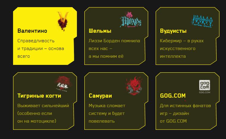 дизайн виртуальной карты киберпанк