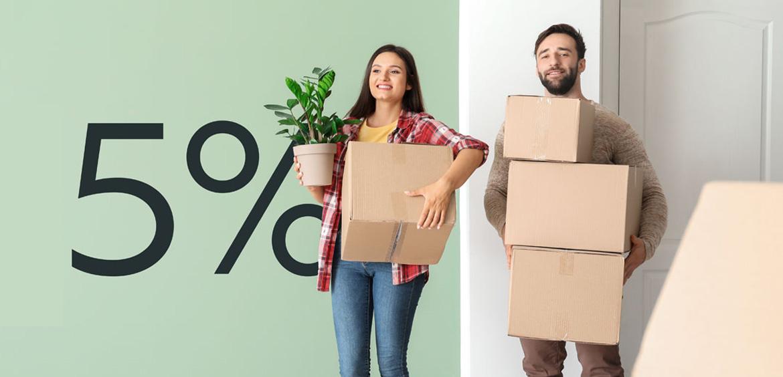 Россияне смогут получать ипотеку на первое жилье под 5%
