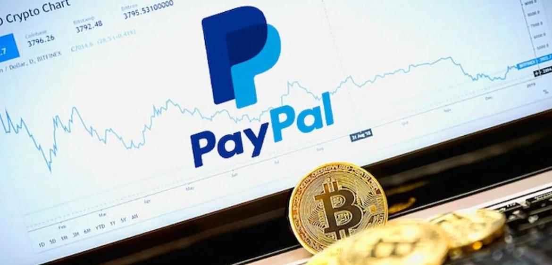 PayPal запустил функцию оплаты покупок криптовалютой