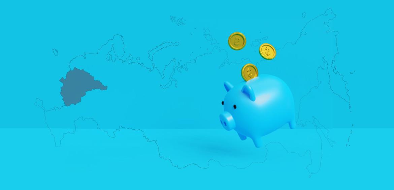Крупнейшие банки Центра России I половины 2021 года