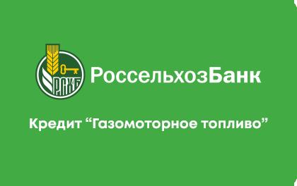 Кредит Россельхозбанк Газомоторное топливо