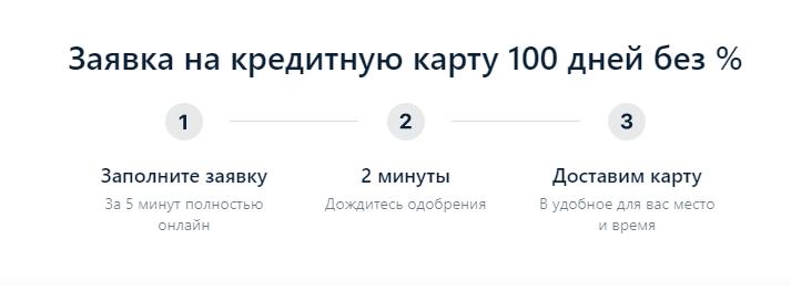 оформление карты альфа банка 100 дней без процентов