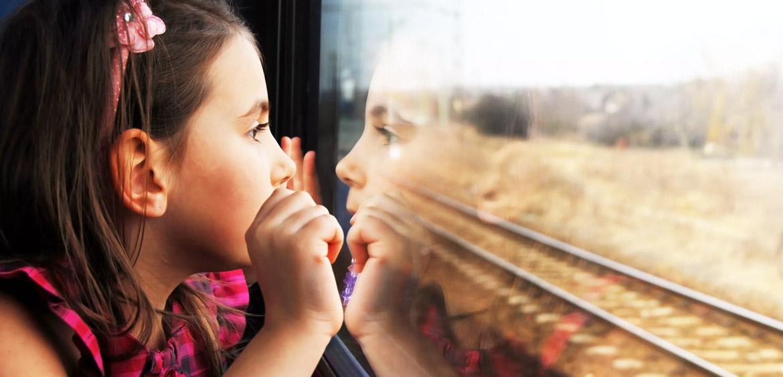 Школьники могут ездить на поезде за полцены